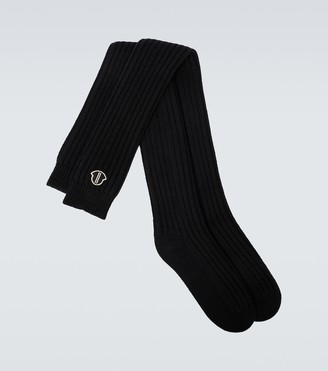 Rick Owens Moncler + knitted socks