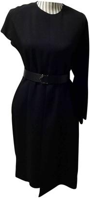 Fendi Black Wool Dress for Women