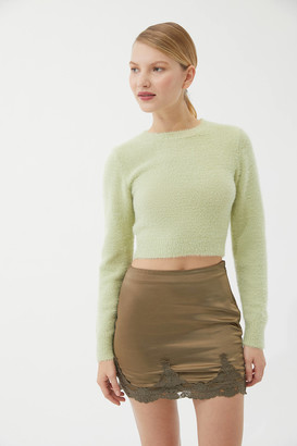 Urban Outfitters Under The Moon Satin Mini Skirt