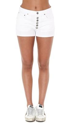Dondup Buttoned Mini Denim Shorts