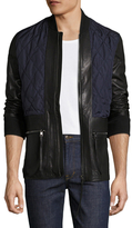Diesel Black Gold Lensy Leather Jacket