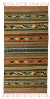 Novica Mexican Hand-crafted Zapotec 'Harmony' Wool Rug (2' x 5')