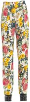 Fausto Puglisi Floral Print Trousers