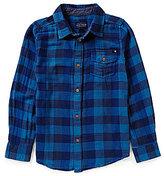 Lucky Brand Big Boys 8-20 Checked Woven Shirt