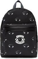 Kenzo Black Nylon Eyes Backpack