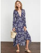 Faithfull The Brand Caricoa Wrap Maxi Dress