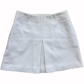Tory Burch White Cotton Skirt for Women