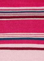 Paul Smith Women's Pink Block-Stripe Socks