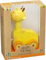 Orange Tree Toys Giraffe wooden pull-along toy