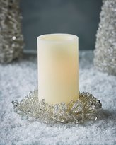 Salzburg Creations Silvery Shine & Shimmer Candle Ring