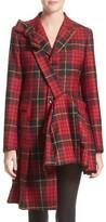 Comme des Garcons Women's Tartan Plaid Wool Jacket