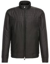 Hugo Boss Jomark Moto Detail Thermal Jacket 36R Black