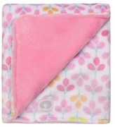 Boppy Reversible Plush Blanket - Light Pink