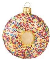 Nordstrom Handblown Glass Sprinkle Donut Ornament