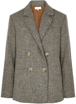 Vince Grey double-breasted jacket