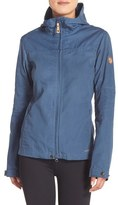 Fjäll Räven 'Stina' Hooded Water Resistant Jacket