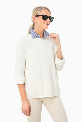 525 America Chalk Emma Shaker Sweater
