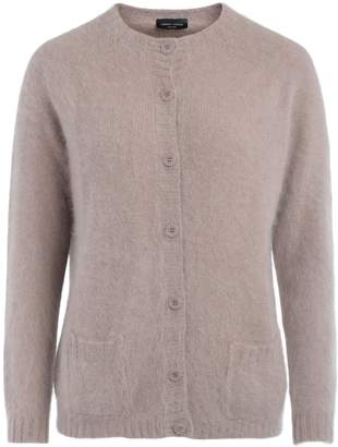 Roberto Collina Beige Sweater With Front Buttons