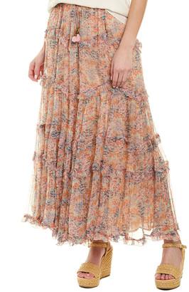 Love Sam Printed Maxi Skirt