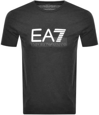 Emporio Armani Ea7 EA7 Visibility T Shirt Grey