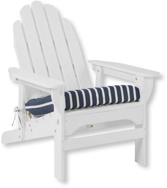L.L. Bean Casco Bay Adirondack Chair Seat Cushion, Stripe