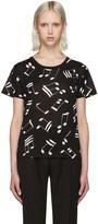 Saint Laurent Black Music Note T-Shirt