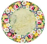 John Derian Floral Wreath Tray w/ Tags