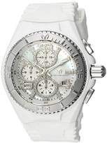 Technomarine Women's 'Cruise' Quartz Stainless Steel and Silicone Casual Watch, Color:White (Model: TM-115271)