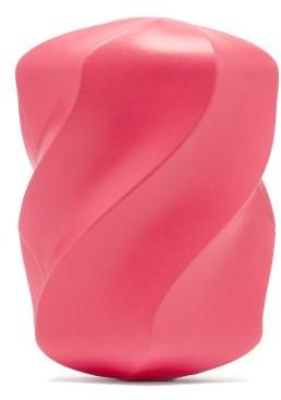 Bottega Veneta The Whirl Leather Clutch Bag - Pink
