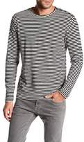 The Kooples Stripes Cotton Jersey Long Sleeve Shirt
