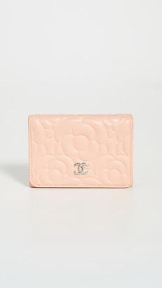 Shopbop Archive Chanel Camellia Compact Wallet