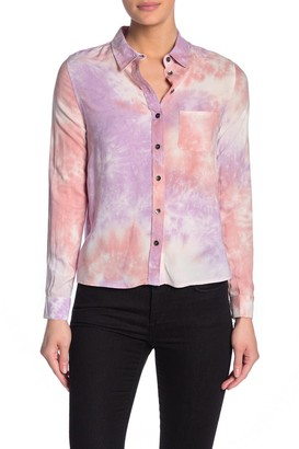 Velvet Heart Markella Tie Dye Button Down Shirt