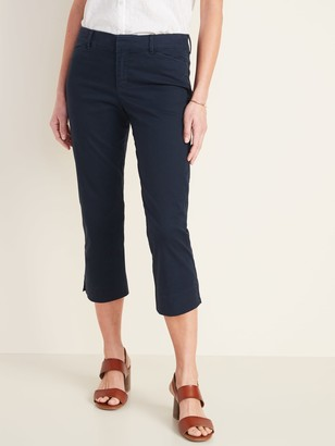 Old Navy Mid-Rise Pixie Chino Capri Pants for Women