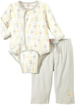 Magnificent Baby Yoga Monkeys Burrito Pant Set (Baby) - Multicolor-9 Months