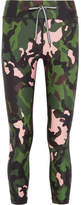 The Upside Printed Stretch Leggings - Army green