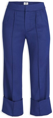 Cleo Prickett Dual Tailored Trouser Made From 100% Fine Worsted Wool From Savile Row