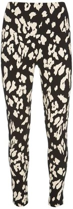 Mint Velvet Lily Print Sports Leggings