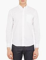 Saturdays Surf NYC White Cotton Button-Down Shirt
