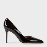 Paul Smith Women's Black And Blue Patent Leather 'Dalia' Shoes