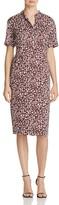 DKNY Abstract Print Sheath Dress