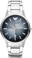 Emporio Armani Mens Blue Ar2472 Stainless Steel Watch