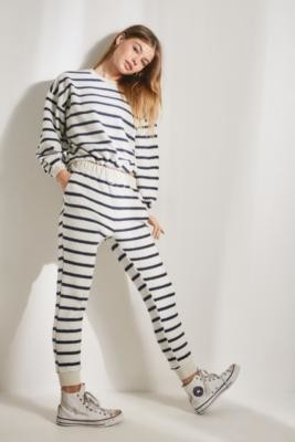 Urban Outfitters Juno Stripe Joggers - assorted XS at