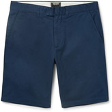 Todd Snyder - Hudson Slim-fit Wool-twill Chino Shorts