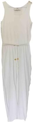 MCM White Cotton Jumpsuits