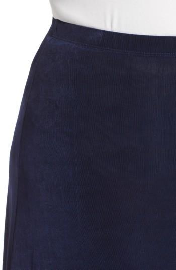 Vikki Vi Plus Size Women's Long A-Line Skirt