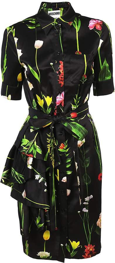 Moschino Printed Shirt Dress