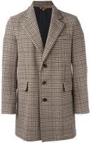 Barena checked coat
