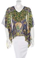Anna Sui Oversize Silk Top w/ Tags