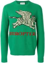 Gucci Flying Tiger Sweater