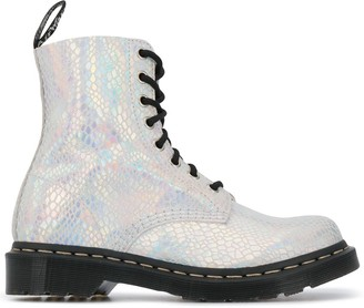 Dr. Martens 101 Metallic Lace-Up Boots